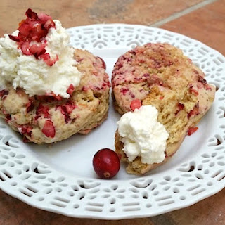 Scones With Fresh Cranberries