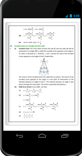 Properties of Triangles Formula Ebook - náhled
