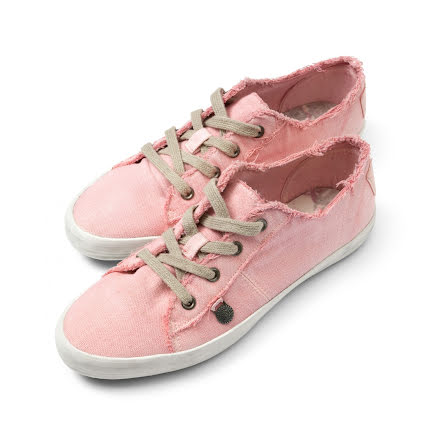 Down To Earth Low Sneakers Milky Pink - Odd Molly