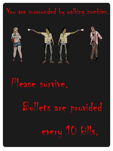 Walking Zombie Game