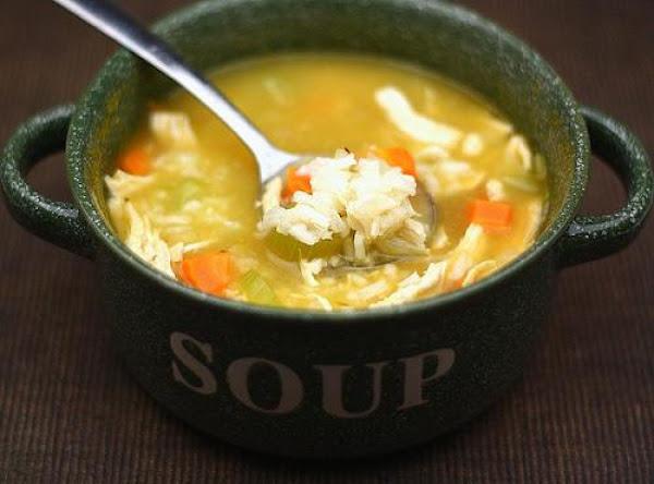 Green Pepper Chicken Herb Rice Chicken Soup Recipe