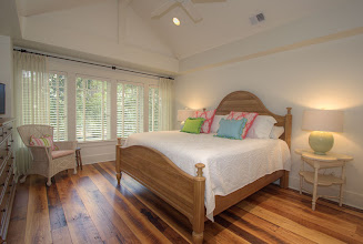 Photo: 2nd Floor guest bedroom with King bed and full bath.