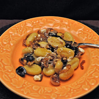 Fried Gnocchi with Mushrooms and Walnuts