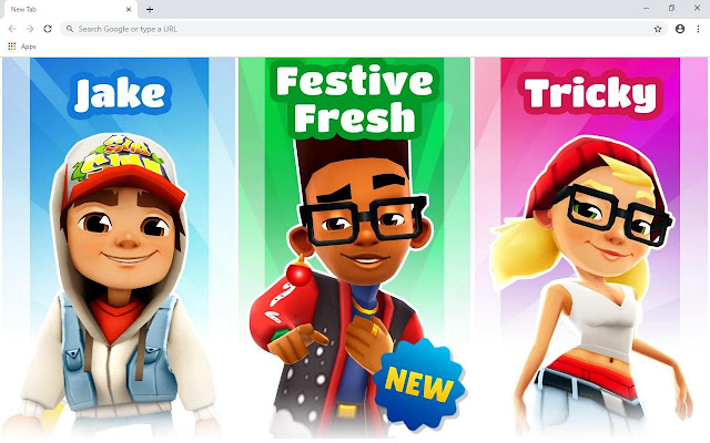 Subway Surfers Wallpapers and New Tab