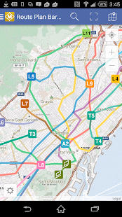 Route Plan Barcelona Metro Map- screenshot thumbnail