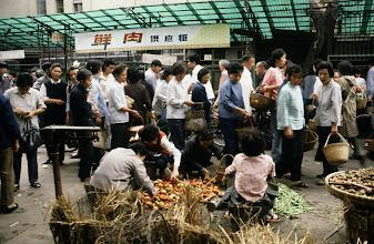 Photo: 10926 上海/自由市場/トマト/ジャガイモ