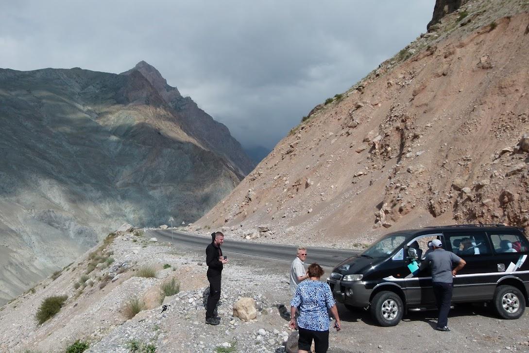 mountains of Tajikistan