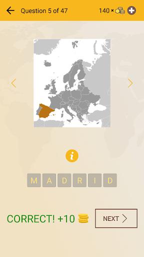 World Geography Quiz: Countries, Maps, Capitals screenshots apkspray 4