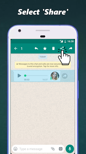 Audio to Text for WhatsApp 3.2.1 screenshots 2