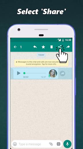 Audio to Text for WhatsApp 3.3 screenshots 2