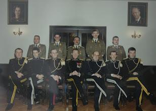Photo: 15 Nov 1990 Soetaer, Bruyninckx, Rapaille, Vandevoorde, Layon. Thomas, Martens, Leonet, Schoups, Andrin, Staes, Morozowski