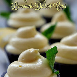 Cream Cheese Lemonade Dessert Cups.