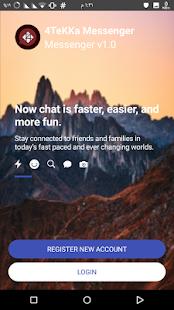 4TeKKa Messenger - náhled