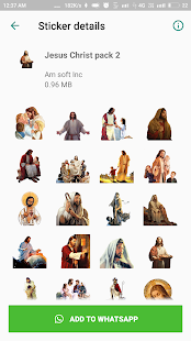 Jesus Christ Sticker Pack for WhatsApp Screenshot