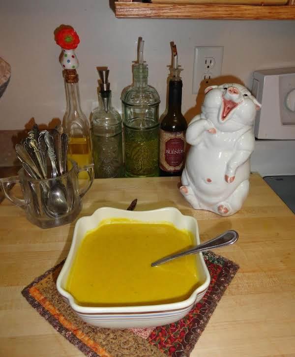 Nunu's  Butternut-cashew Creamy Soup