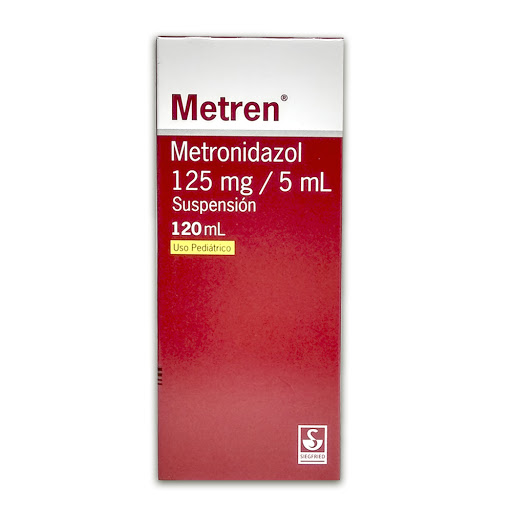 Metronidazol Metren Suspension 125 mg/5mL x 120 mL