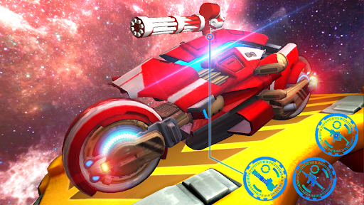Space Bike Galaxy Race 1.0.2 screenshots 5