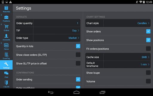 PANEX Protrader screenshot 6