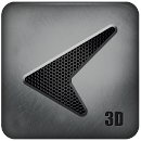 Glass Tech 3D Live Theme v 1.0 app icon