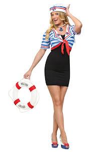 Bolero med hatt, sjöman