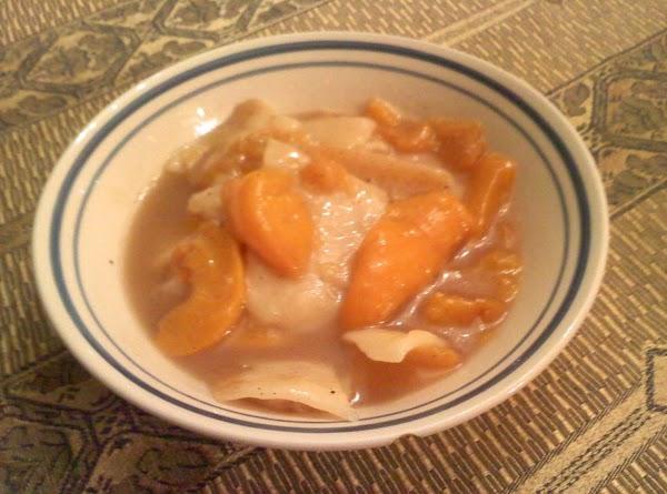 Mom's Homemade Peach Dumplings Recipe