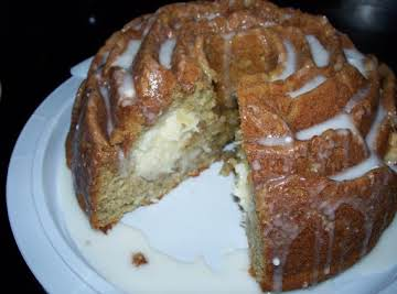 Banana Coconut filled Bundt Cake