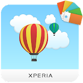XPERIA™ In The Clouds Theme Icon