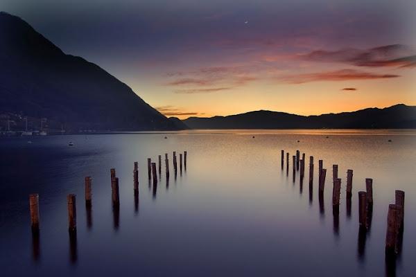 I gemelli sulla seta dell'acqua di Ticino-Joana
