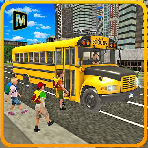 校車駕駛3D模擬器 模擬 App LOGO-硬是要APP