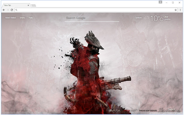 Bloodborne Wallpaper HD New Tab Themes