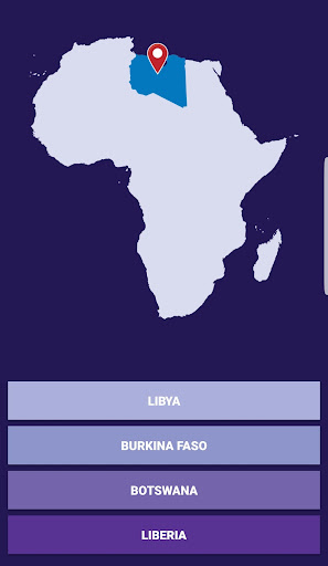 Africa Countries Map Quiz App Report on Mobile Action - App ...