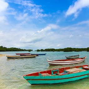 sampan boat by Syahbuddin Nurdiyana - Landscapes Travel