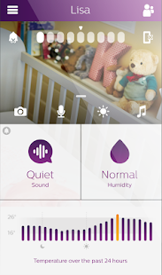 uGrow Smart Baby Monitor - náhled