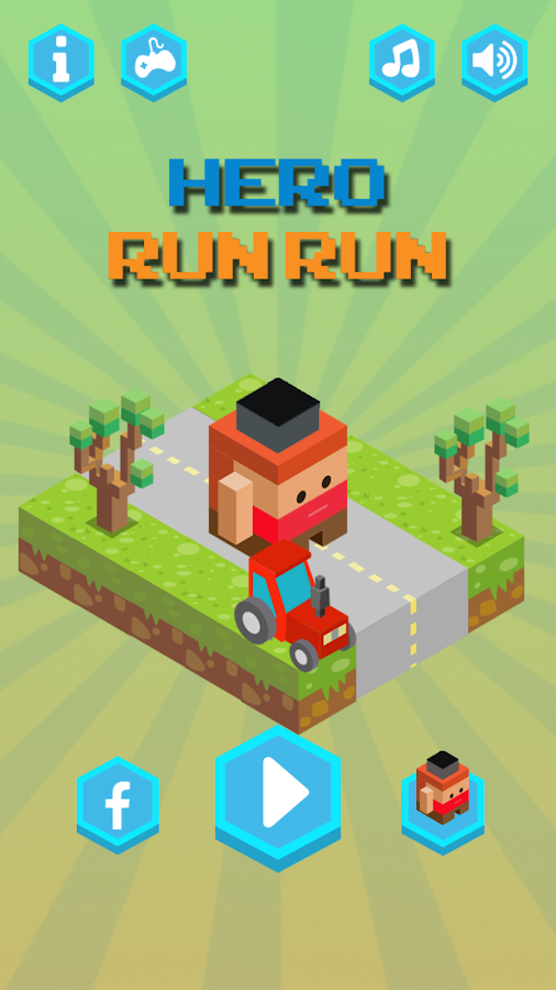 Hero Run Run- screenshot