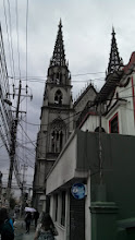 Photo: Day 1: During our hike of Quito, we came acros this cathedral. It was called Basílica del Voto Nacional.