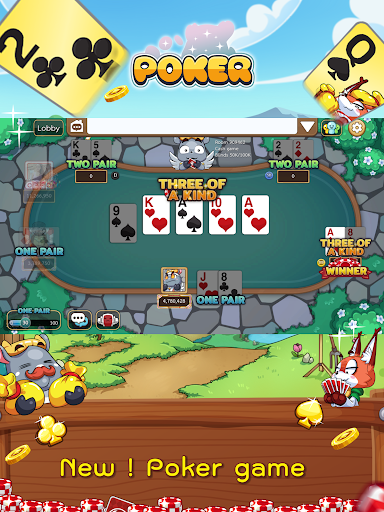 Free Poker Toon  Texas Online Card Game  screenshots 9