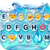 Water Bubble Keyboard & Emoji
