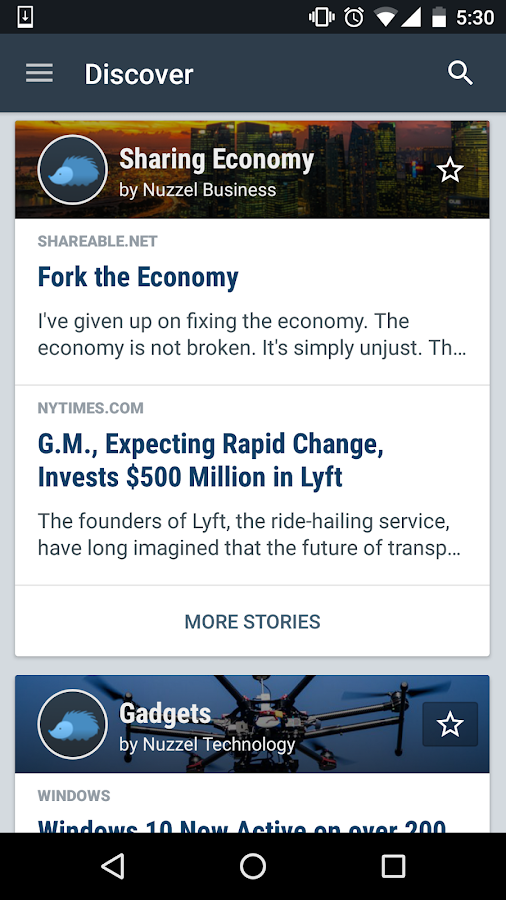 Nuzzel: News and Newsletters- screenshot