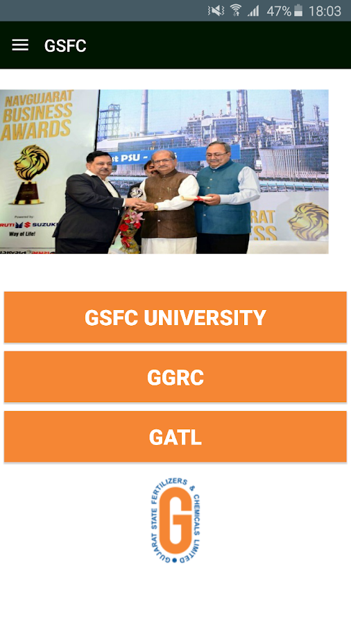 GSFC News- screenshot