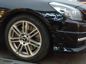 SLK R172 SLK200 Blue Efficiency AMGスポーツパッケージ 2014年式のタイヤのカスタム事例画像 もり〜さんの2019年01月12日19:27の投稿