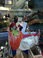 Photo: Christmas decorations on ms Ryndam 2012