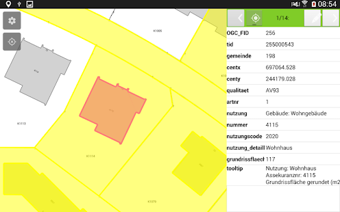 QField for QGIS - EXPERIMENTAL- screenshot thumbnail