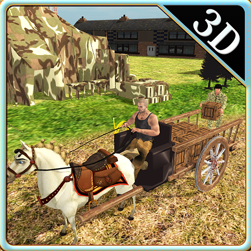 Army Horse Carriage Riding & Transport Simulator