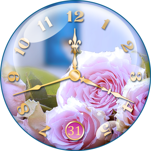 Rose Clock Live Wallpaper 🌹 file APK for Gaming PC/PS3/PS4 Smart TV