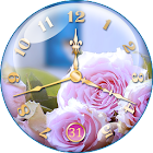 Rose Clock Live Wallpaper 🌹 icon