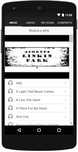 Acordes Linkin Park - náhled