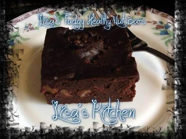 Lisa's Fudgy Healthy Nut Bars Recipe