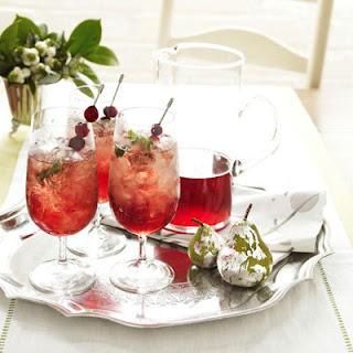 Christmas Cranberry Juleps