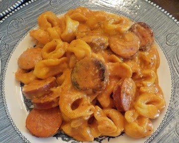 Sausage & Tortellini In Tomato Cream Sauce Recipe