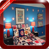 Bedroom Superhero Theme